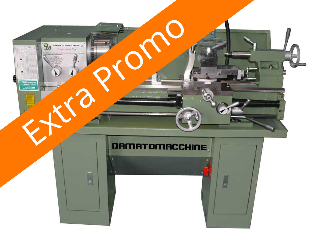 Semi-professional Bench lathe Multitech 800 Plus