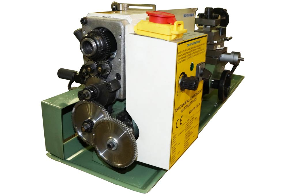 mini lathe edison 350 by damatomacchine dm italia
