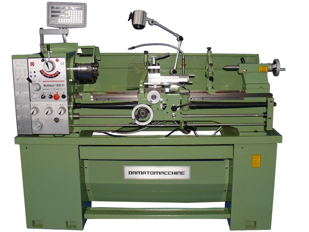 Professional Bench Lathe Multitech 1000.51 Digit