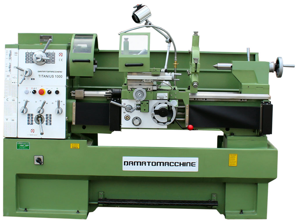 Professionall Bench Lathe Titanius 1000 by Damatomacchine
