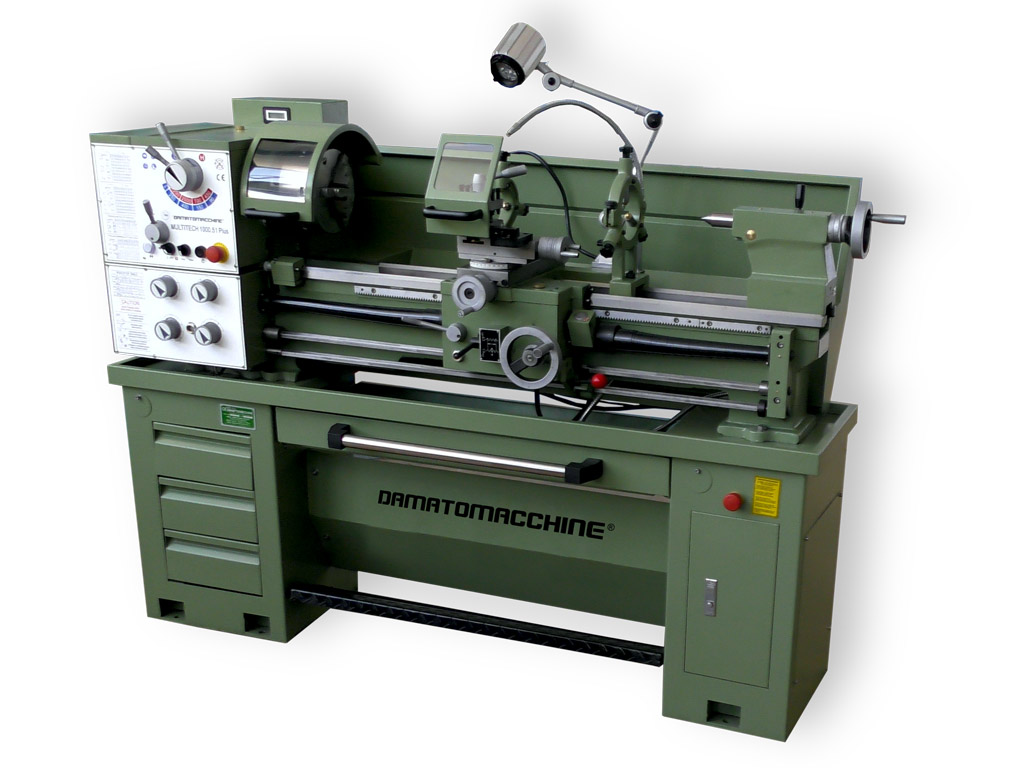 Professionall Bench Lathe Multitech 1000.51 Plus