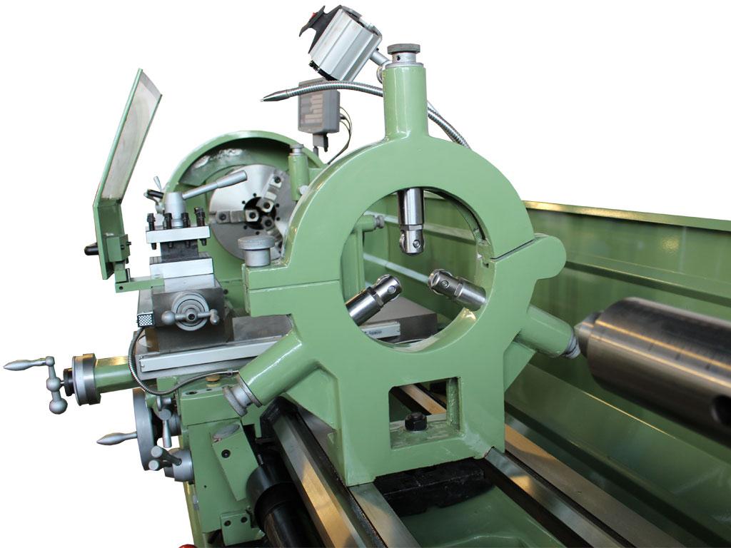 Tour à métaux professionnel  avec la distance entre les pointes de 2000 mm model Dynamics 2000 de damatomacchine