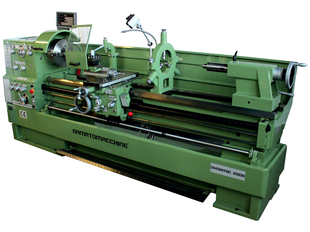 Profi-Drehmaschine Dynamic 2000 Digit