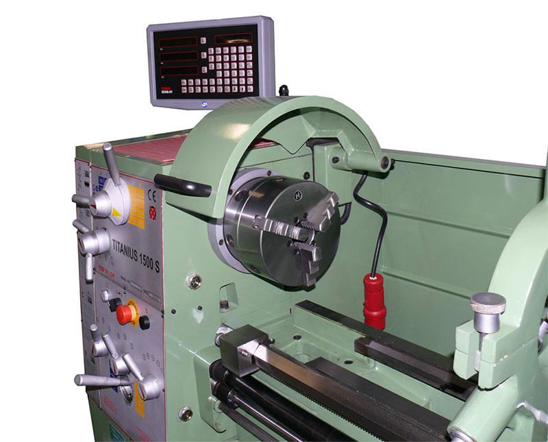 Tornio professionale titanius 1500 digit di damatomacchine for Tornio damatomacchine