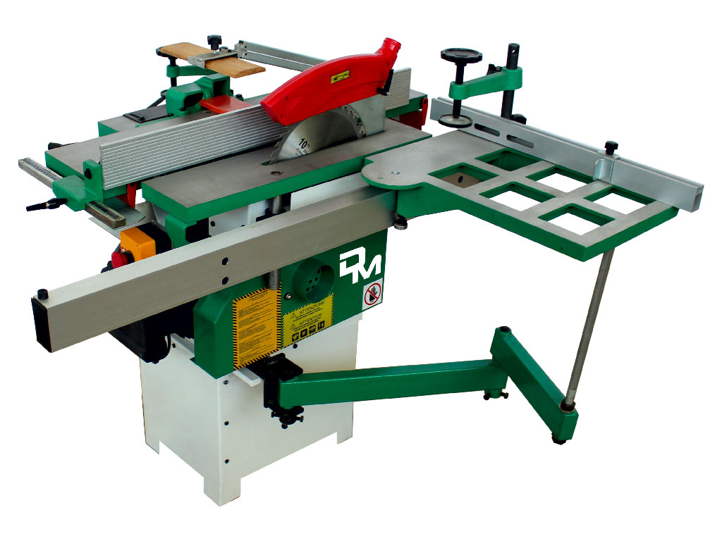Woodworking combination machine 5 operation Andromeda Super model powered by Damatomacchine
