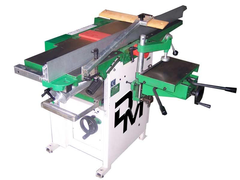 Pialla filo/spessore da 310 mm di larghezza con cavatrice integrata prodotta da Damatomacchine