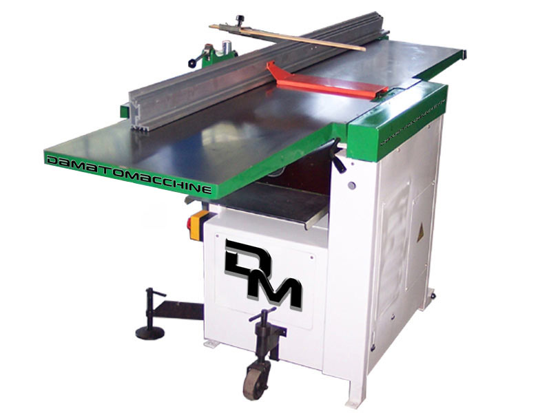Surface and thicknesser planer with spindle planer of 410 mm and single-phase motor of 3 Hp FSC 410 model by damatomacchine