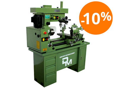 Lathe-Milling-Drilling machine combo Master 750