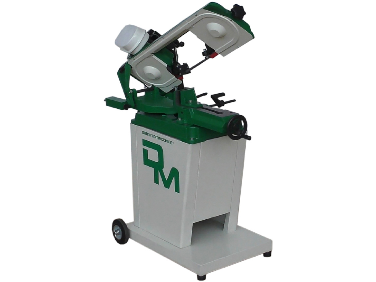Elettric metal cutting bandsaw GEO 5013 by Damatomacchine