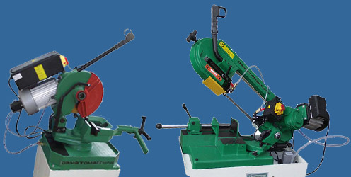 Electric metal cutting saws