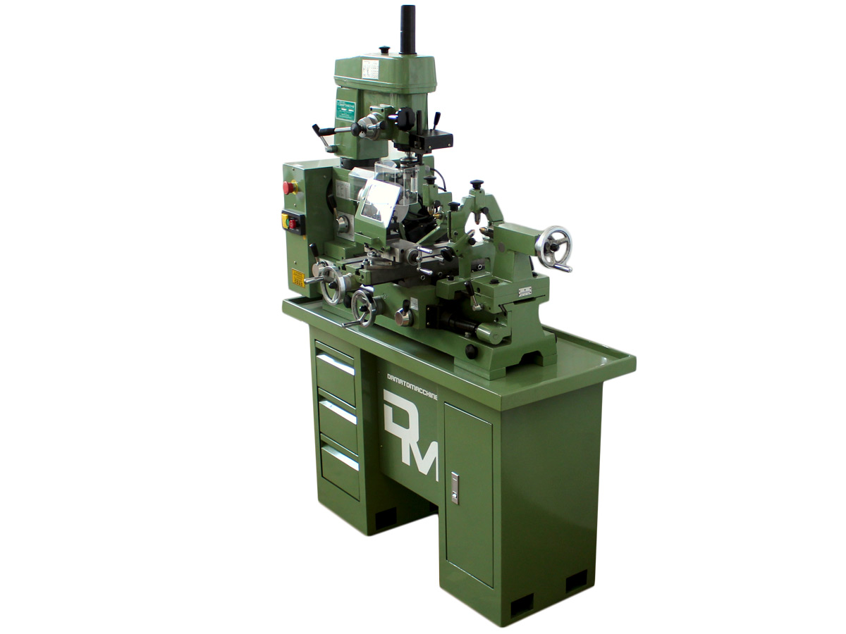 Lathe-Milling-Drilling machine combo Master 500 by damatomacchine