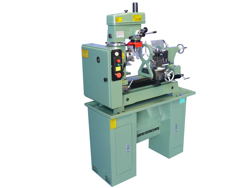 metalworking lathe-milling-drilling machine combo Master 400 TRF by Damatomacchine