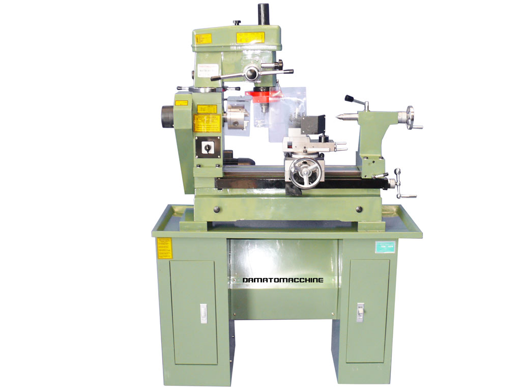 Combo metalworking lathe-milling machine Master 400 TR by Damatomacchine