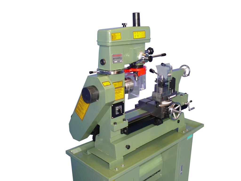 Combo metalworking lathe-milling machine Master 400 TR by Damatomacchine