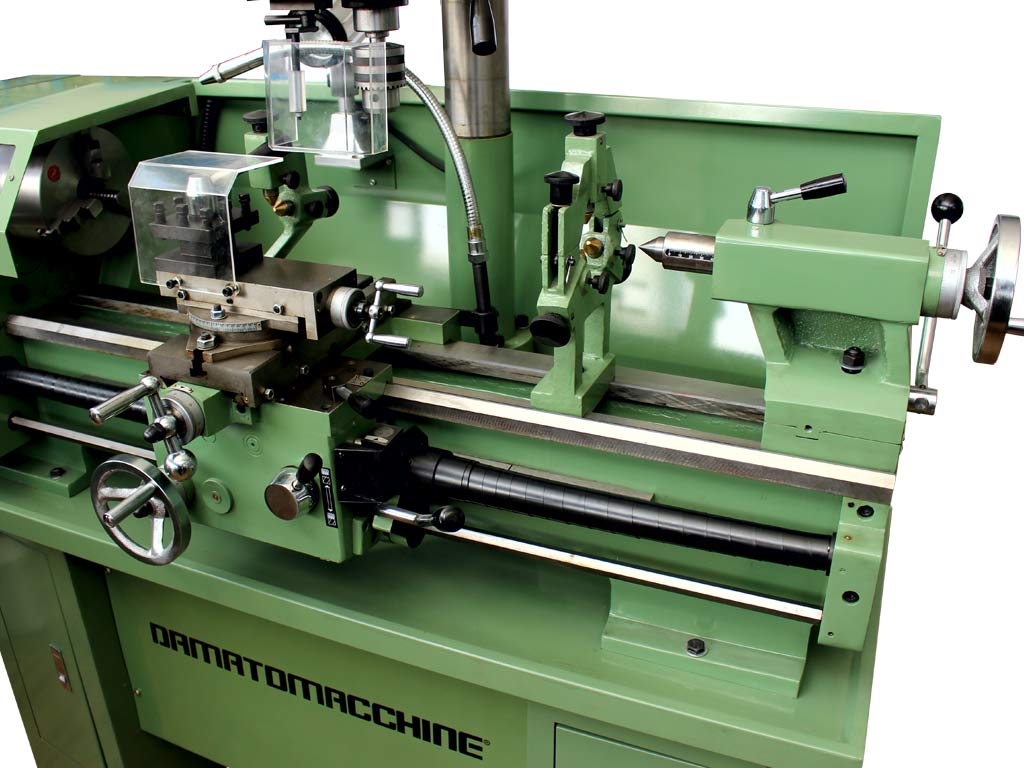 Metal Lathe 800x320 mm with milling and drilling function