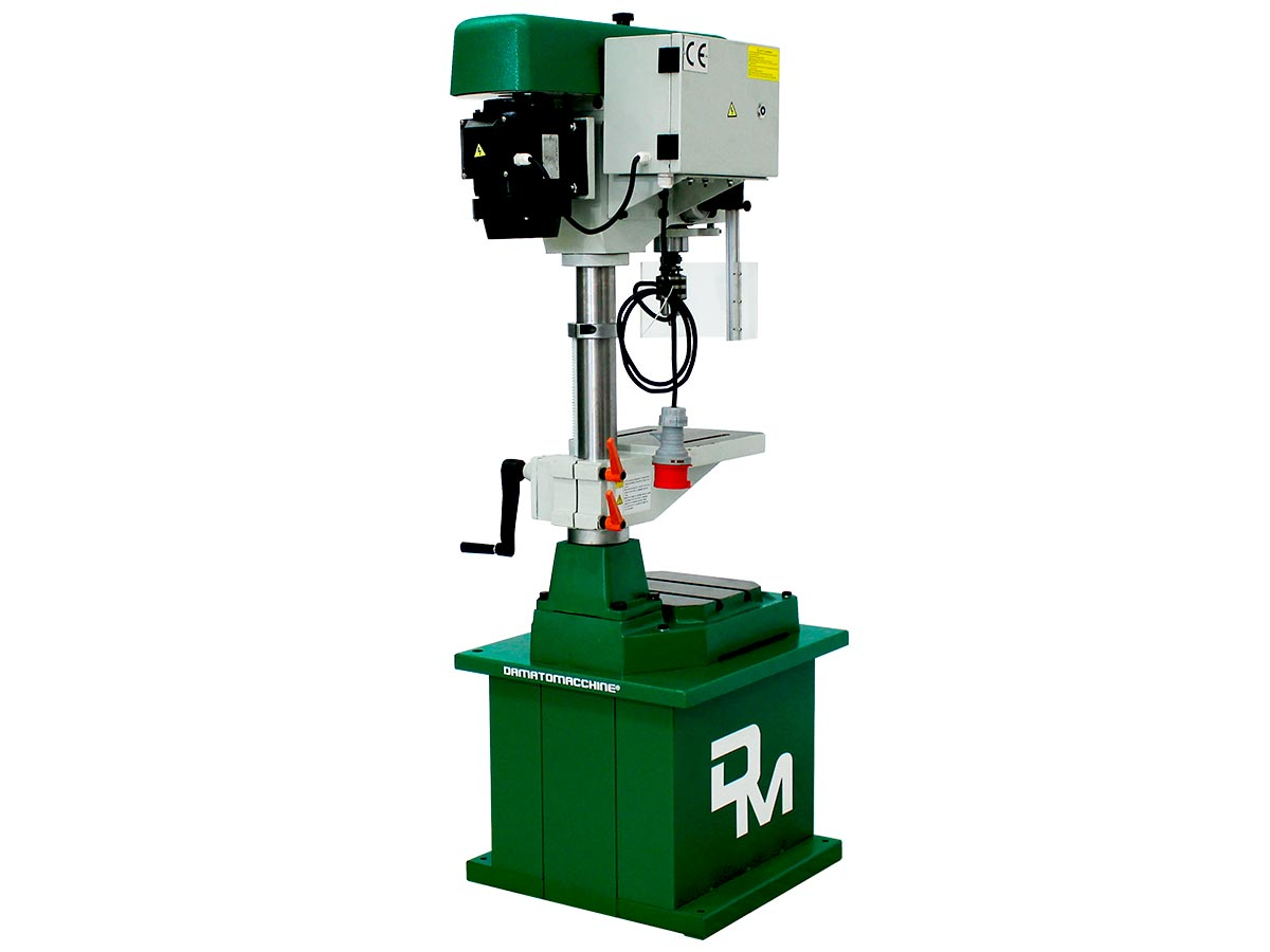 Drilling-Milling Machine Wilson TF 1.6 Manual by Damatomacchine