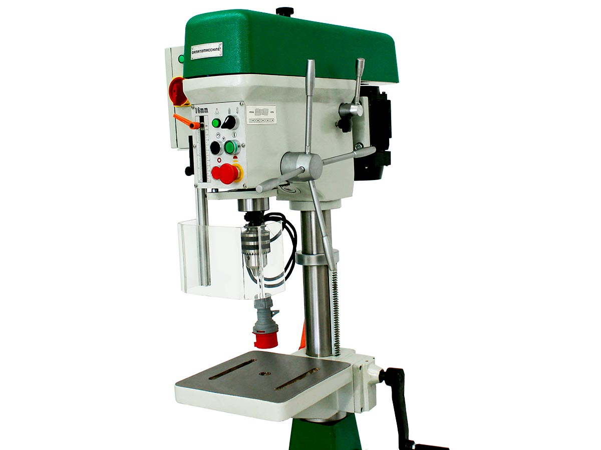 Drilling-Milling Machine Wilson TF 1.6 Manual by Damatomacchine