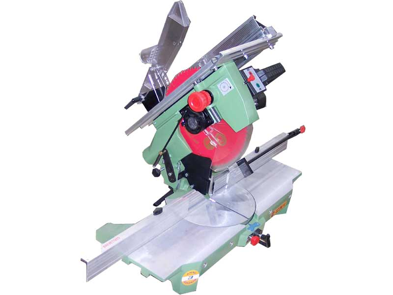 Mitre saws with 300 mm circular blade powered by a powerful single-phase 1100W