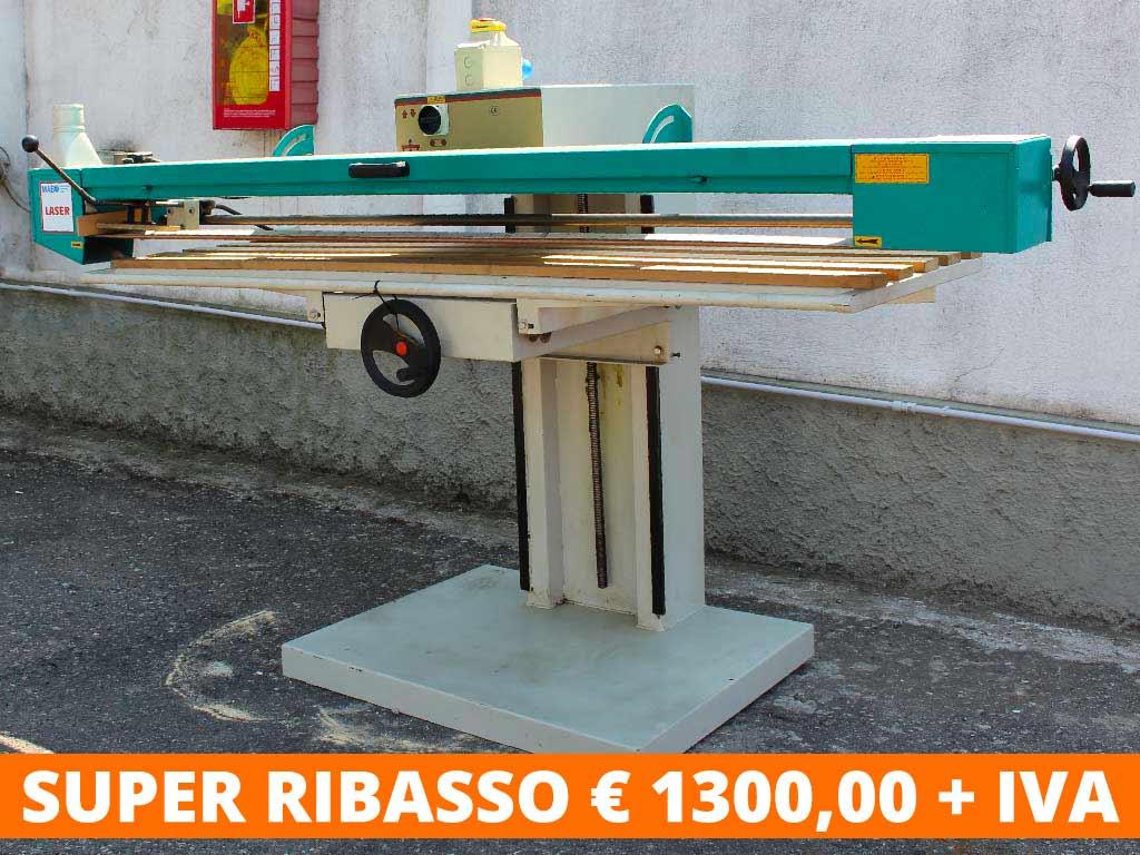 Levigatrice a Nastro Laser lunghezza 2500 Monofase
