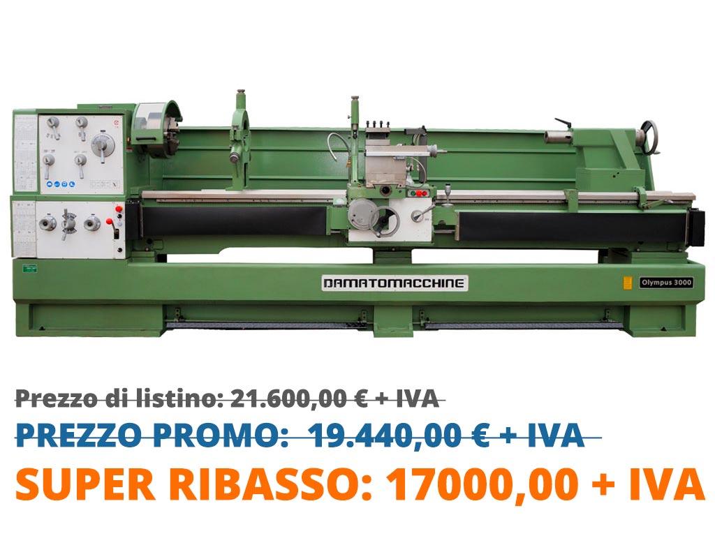 Tornio Professionale Olympus 3000