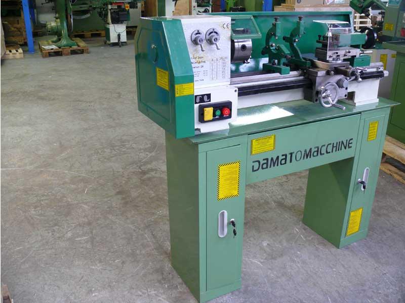 Torni usati e macchine utensili per metalli usate dm italia for Mini torni usati
