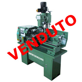 Tornio per metalli ritiro Fiera Mod. master 800 3L Super (At 320)