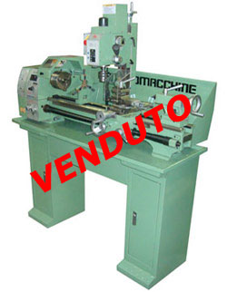 Tornio per metalli ritiro Fiera Mod. Electron 28.3 Super (Center)
