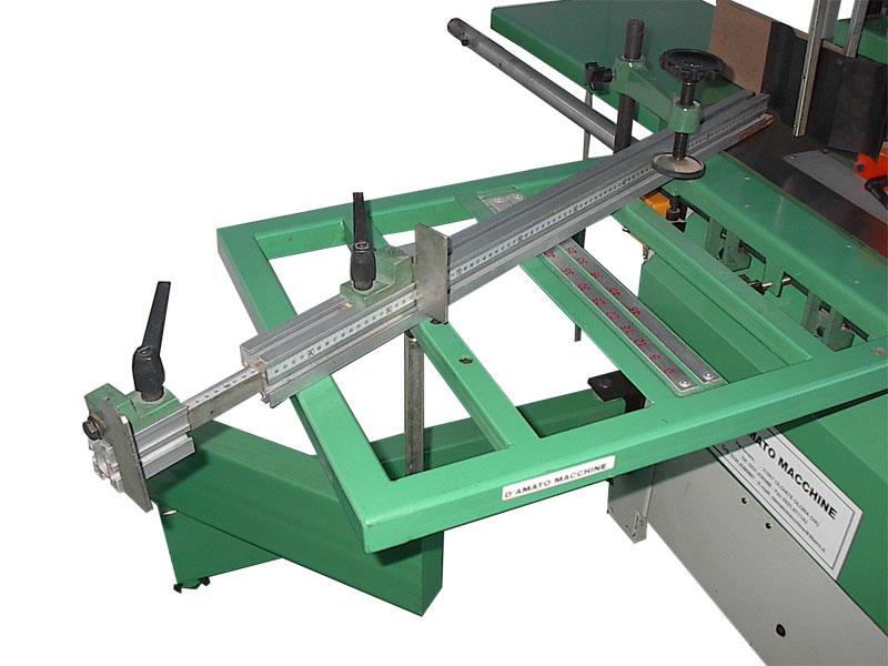 Macchina combinata per legno a 7 funzioni modello America Standard di Damatomacchine