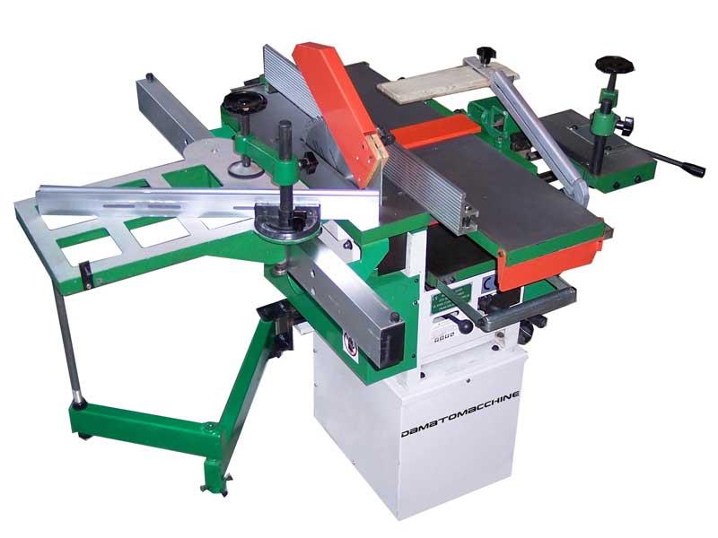 Woodworking combination machine 5 operation Andromeda Super model powered by Damatomacchine