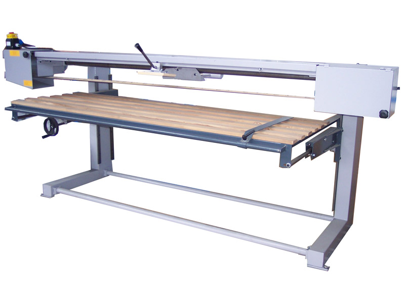 Sanding Machine for working long boards of 
