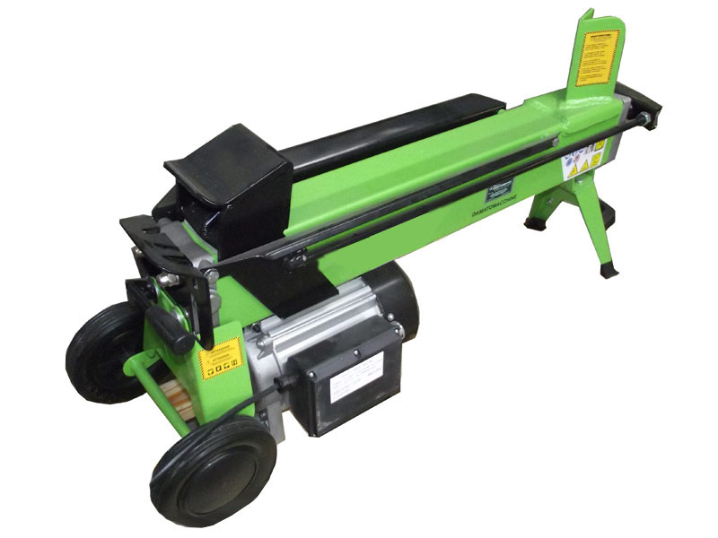 Orizzontal woodsplitter machine with power 6 Tons