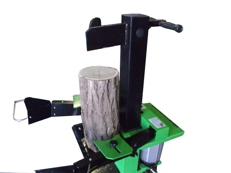 Vertical hydraulic log splitter with 10 ton