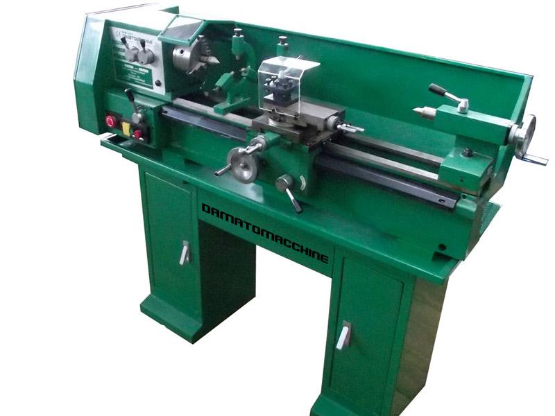 Tornio metallo mod bv25l1 damato macchine dmto003 for Damato macchine utensili