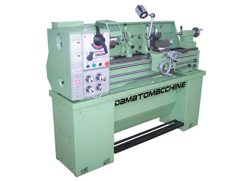 Semi-Professional Bench Lathe Multitech 1000.38 by Damatomacchine