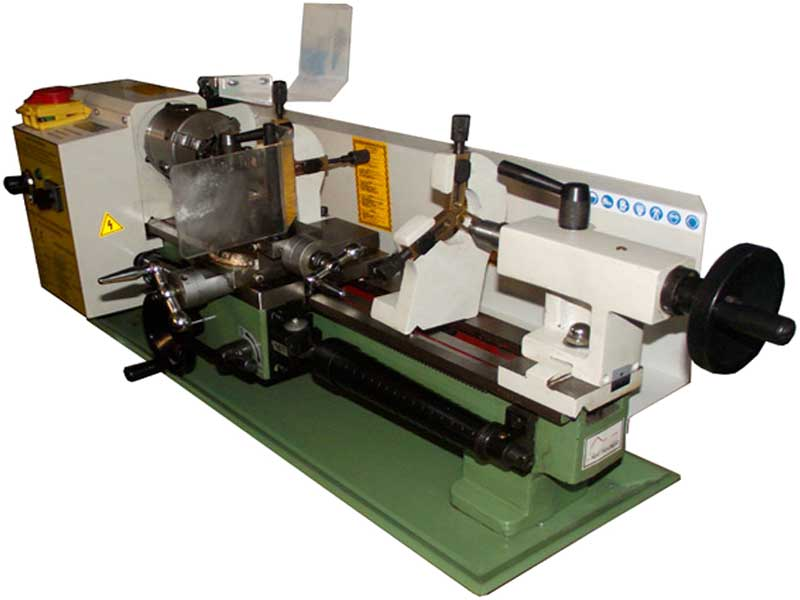 Petit Tour à métaux avec variateur électronique de vitesse model Edison de Damatomacchine