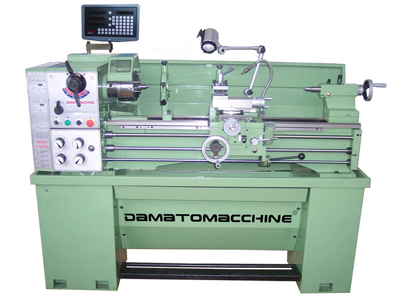 Tornio per metalli multitech 1000 super digicom dm for Tornio damatomacchine