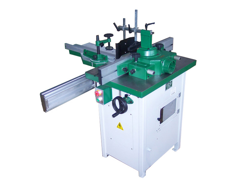 Woodworking spindle moulder with fix spindle