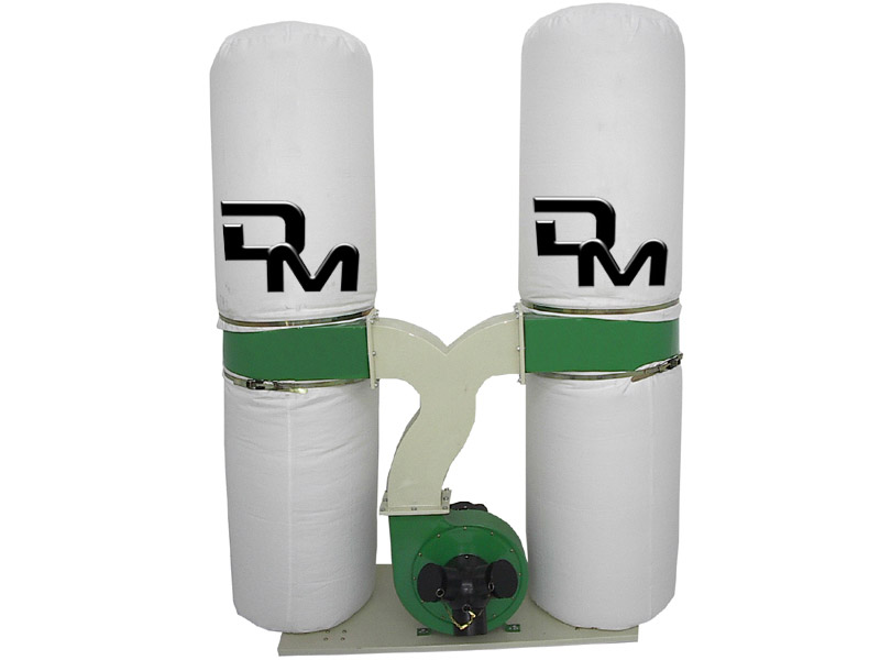 Dust collector for woodworking