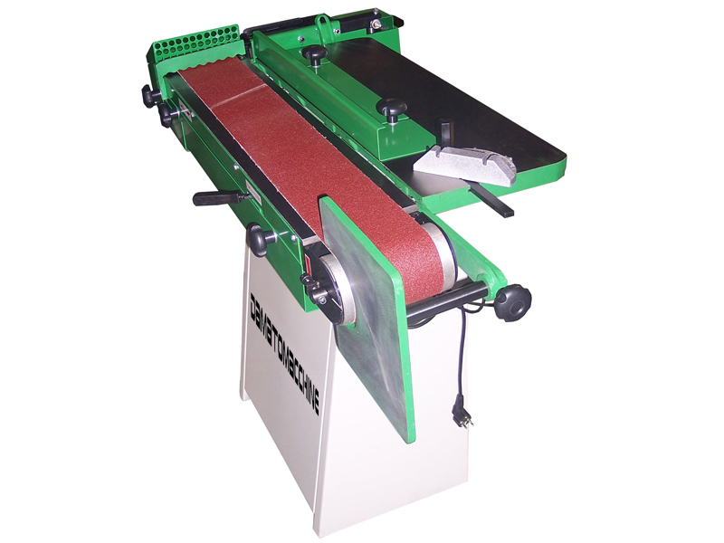 Horizzontal & Vertical sanding machine with abrasive belt