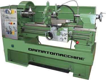 Tour a metaux professionnel titanius 1000 dm italia for Tornio damatomacchine