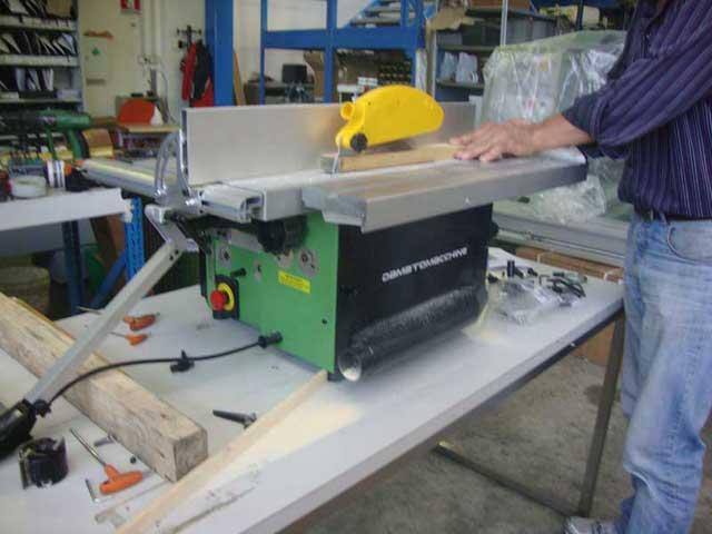 Kombimaschine cosmos elite details der bearbeitungen dm for Taglio legno bricoman